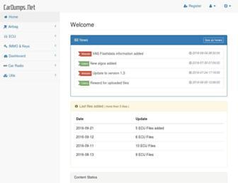 cardumps.net screenshot
