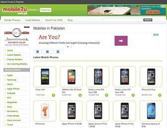Thumbshot of Mobile2u.com.pk