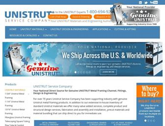 unistrutohio.com screenshot