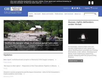 bankwatch.org screenshot