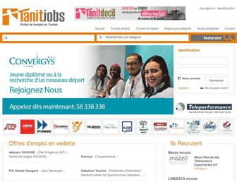 tanitjobs.com screenshot