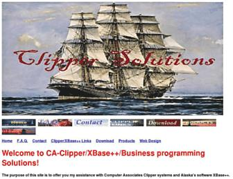 clippersolutions.com screenshot