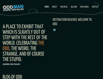 Thumbshot of Oddman.ca