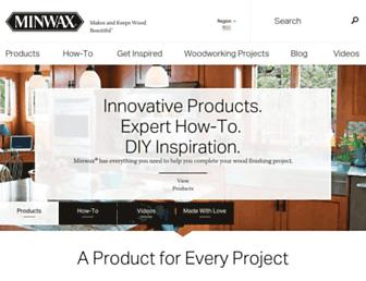 Thumbshot of Minwax.com
