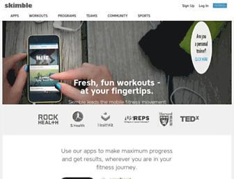 Thumbshot of Skimble.com