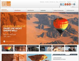 de.visitjordan.com screenshot