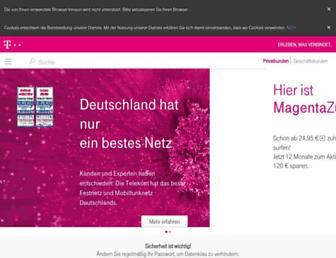 Thumbshot of Telekom-dienste.de