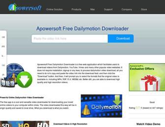 downloaddailymotion.com screenshot
