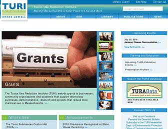 Main page screenshot of turi.org