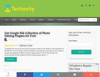 techovity.com screenshot