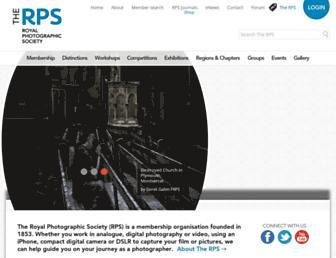 rps.org screenshot