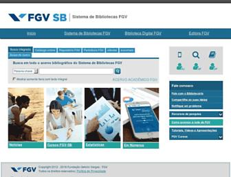 bibliotecadigital.fgv.br screenshot