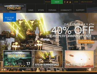 Thumbshot of Mwomercs.com
