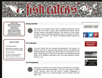 Thumbshot of Fisheaters.com