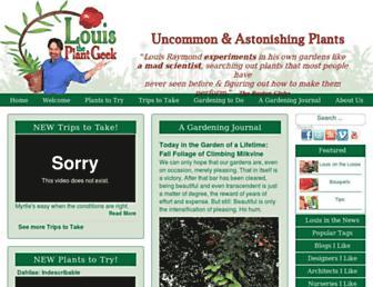 louistheplantgeek.com screenshot