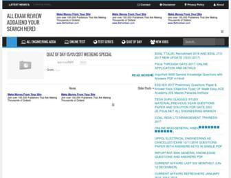 allexamreview.com screenshot