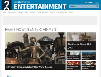 entertainment.howstuffworks.com screenshot