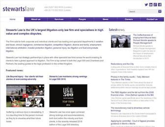 stewartslaw.com screenshot