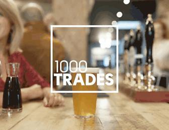 1000trades.org.uk screenshot
