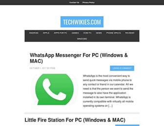 techwikies.com screenshot