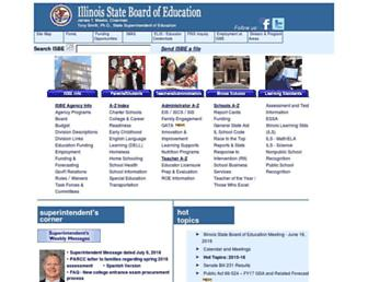 isbe.state.il.us screenshot