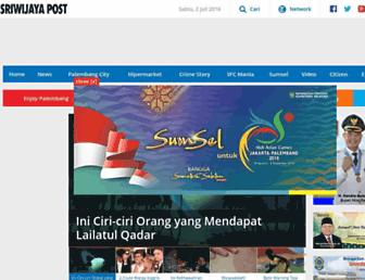 palembang.tribunnews.com screenshot