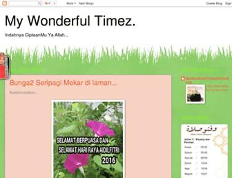 mywonderfultimez.blogspot.com screenshot