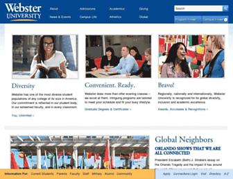 Thumbshot of Webster.edu