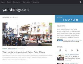 Thumbshot of Yashvinblogs.com