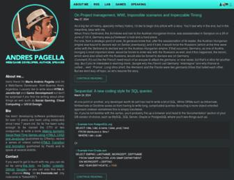 andrespagella.com screenshot