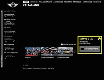 Thumbshot of Caltabianomini.com.br