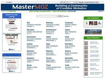 Thumbshot of Mastermoz.com