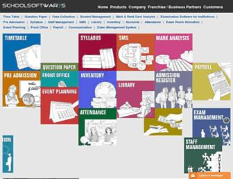 schoolsoftwares.com screenshot