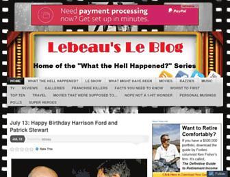 Thumbshot of Lebeauleblog.com