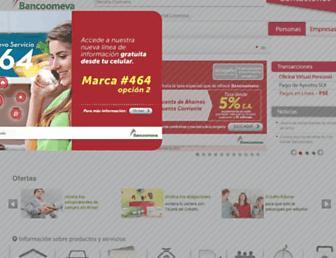bancoomeva.com.co screenshot