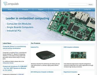 compulab.co.il screenshot