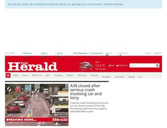 Thumbshot of Plymouthherald.co.uk
