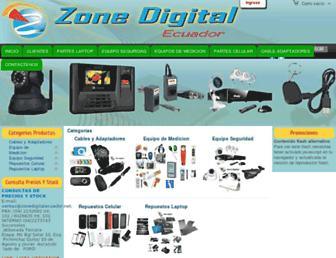 zonedigitalecuador.net screenshot