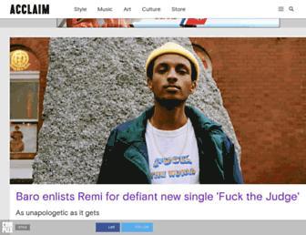 acclaimmag.com screenshot