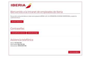 ibproxima.iberia.es screenshot