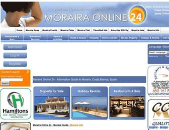 morairaonline24.com screenshot
