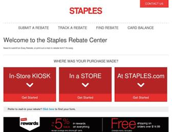 Thumbshot of Stapleseasyrebates.com