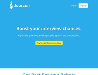 jobscan.co screenshot