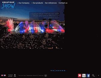 aquatic-show.com screenshot