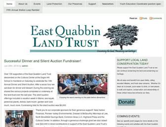 Main page screenshot of eqlt.org