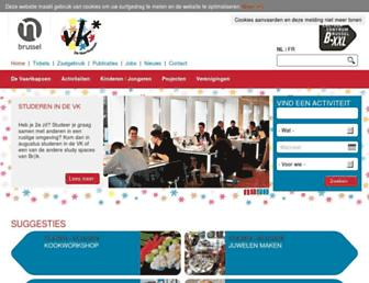 Main page screenshot of vaartkapoen.be