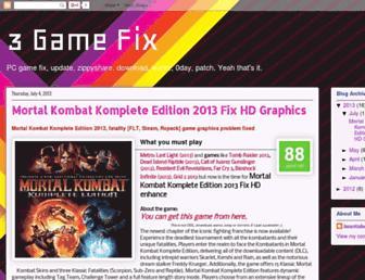 3gamefix.blogspot.com screenshot
