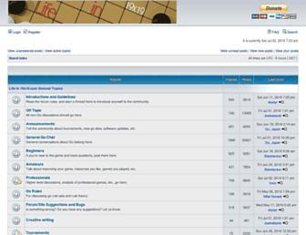 lifein19x19.com screenshot