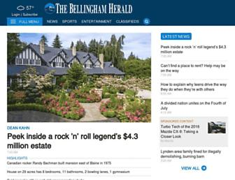 bellinghamherald.com screenshot