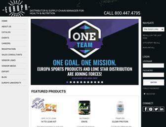 Thumbshot of Europasports.com